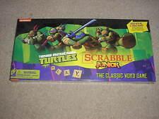 New Sealed Nickelodeon Teenage Mutant Ninja Turtles Scrabble Junior Game Hasbro