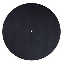DYNAVOX Plattentellerauflage PM2 aus Filz für Vinyl-Player/antistatisch/schwarz