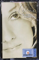 CELINE DION All The Way... A Decade Of Song 1999 MALAYSIA Cassette VERY RARE NEW