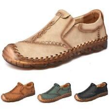 Mens Leiusre Faux Leather Driving Moccasins Shoes Pumps Breathable Walking New L