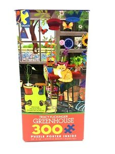 """Tracy Flickinger Greenhouse Puzzle 300 Pieces 24"""" x 18"""""""