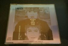 GEORGE HARRISON WHEN WE WAS FAB 4 TRACK 3 INCH CD BEATLES RARE FREE POSTAGE