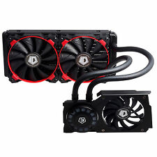 ID-COOLING 240mm AIO Water Cooler For GTX1080/1070 VGA Card, LED Lighting, N&ATI