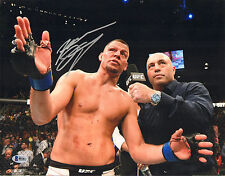 NATE DIAZ SIGNED AUTO'D 11X14 PHOTO BAS COA B80041 UFC 202 196 VS CONOR MCGREGOR