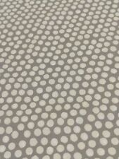 Fryetts Spotty Grey Curtain/Upholstery Fabric 1.4 Metres