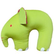 Microbeads Travel Pillow Kids Child Cartoon Elephant Head Rest Neck Support Gift