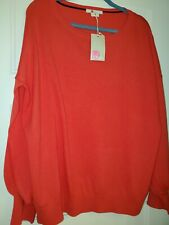 NWT Boden Red Balloon Sleeve Sweater SZ XL Retail $109.