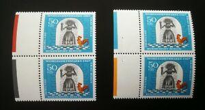 BERLIN 1967 Farbrandstreifen Michel Nr. 313 ** postfrisch Frau Holle Pechmarie