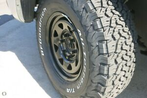 Set of 4 BF Goodrich AT KO2 tyres With Black Steel Rims - New