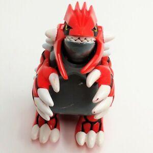 "Pokemon Groudon 5"" Inch Action Figure 2003 Nintendo Hasbro Legendary Figure Only"