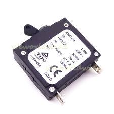 30 AMP 30A Chinese Generator Circuit Breaker For 230V Hertz 50/60 37.5 Trip Amps