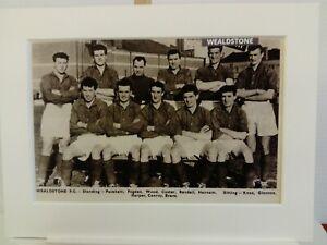 Amateur football team print  WEALDSTONE F.C.