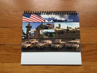 AM General 2009 Hummer Humvee HMMWV Spiral Desk Calendar