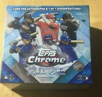 2020 Topps Chrome Update Series Baseball  Sapphire Edition Online Exclusive BOX