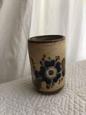 Vintage ceramic toothbrush cup holder