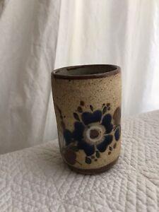 Vintage ceramic toothbrush cup holder