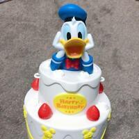 "Donald Duck Popcorn Bucket ""Happy Birthday to Me"" Tokyo Disney Resort Limited"