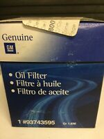 GENUINE GM HOLDEN OIL FILTER GM Part No. 93743595