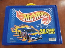 Hot Wheels Racing 48 Car Carry Carrying Case by Tara 1997 20010 Plus Toy Cars