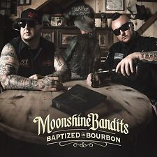 Moonshine Bandits Baptized In Bourbon CD NEW The LACS Colt Ford Demun Jones
