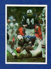1986 Jeno's Pizza Baltimore Colts Card RICK VOLK LEROY KELLY Cleveland Browns
