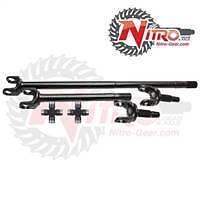 Nitro 4340 Front Axle Kit Dana 30 Jeep XJ YJ ZJ TJ MJ Rubicon 30 Spl Upgrade