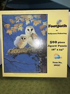 FOOT PATH 500 Piece OWL Puzzle- Polly Anna Pickering CIB