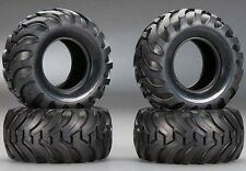4 TIRES  Bruiser Toyota Hilux Mountain Rider Mountaineer Tyre RC Tamiya 19401968