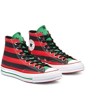 Converse Chuck Taylor All Star High CT Low Denim Tears Red Green UK 9.5 US One