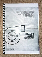 RAJAY TURBO MAINTENANCE MANUAL ATP MR TURBO KAWASAKI Z1R TC DRAG Z1 KZ900 GSX
