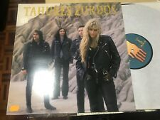 "TAHURES ZURDOS - NIEVE NEGRA 12"" LP EMI 91 HARD ROCK ALTERNATIVE"