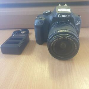 Canon EOS 4000D Digital SLR Camera with 18-55mm Lens with Charger. (Y2)