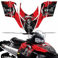 Sled Wrap for Polaris Shift Dragon RMK Graphic Snow Decal Kit Snowmobile REAP R