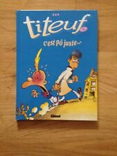 "Titeuf #4: ""C'est po Juste..."" / Comic Book in French"