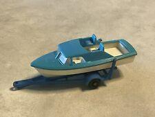 matchbox lesney Motorboot Mit Hänger ?Serie 9