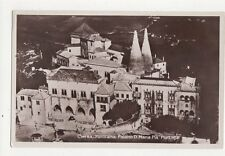 Cintra Panorama Palacio D Maria Pia Portugal RP Postcard 261a