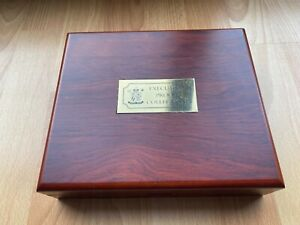 2006 UK EXECUTIVE PROOF COIN SET, 13 COINS IN LUXURY CASE + COA