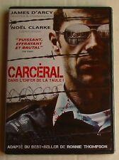 DVD CARCERAL - James D'ARCY / Noel CLARKE - NEUF
