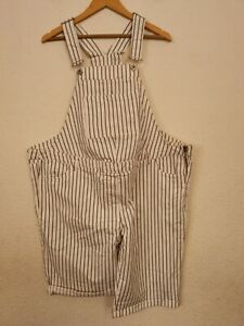 BNWT lovely NEXT Maternity Ladies Dungarees Shorts - size UK 20R         (#A965)