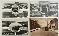 12 x VINTAGE BUNCRANA CO DONEGAL POSTCARDS FROM 1930's to 1950's IRISH IRELAND