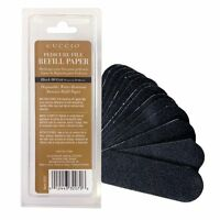 CUCCIO - 50 papers x Black REFILLS   ABRASIVE PACKS  80 grit  Refills ONLY