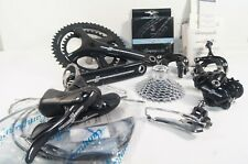 NEW Campagnolo Potenza 11 Speed 53/39 172.5 mm Black Alloy Groupset / Gruppo