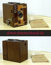 Kodak Beau Brownie No.2 Art Deco Kamera 120 Rollfilm, 1930er Jahre !