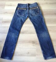 DIESEL SLAMMER JEANS SIZE 34 X 34 DISTRESSED VGC SEE DESCRIPTION MADE IN ITALY