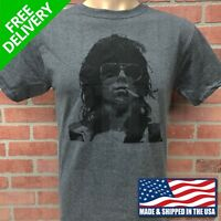 ROLLING STONES, KEITH RICHARDS HEATHER GREY T-SHIRT