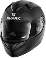 NEU SHARK Helm Ridill schwarz matt Gr. M = 57/58 Motorradhelm Sonnenblende
