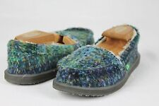 Sanuk Meltaway Ocean Multi Sidewalk Surfer Shoes Women's Size 7 US