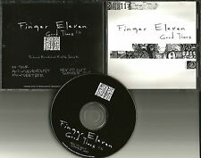 FINGER ELEVEN Good Times PROMO DJ CD single w/ PRINTED LYRICS Sevendust Tour USA