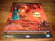 DONG-OH JO - HA-JUN YU - Publicité de magazine FILM THE RESTLESS !!!!!!!!!!