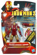 "Iron Man 2: Concept Series 4"" (10 cm) POWER ASSAULT ARMOR IRON MAN Action Figure"